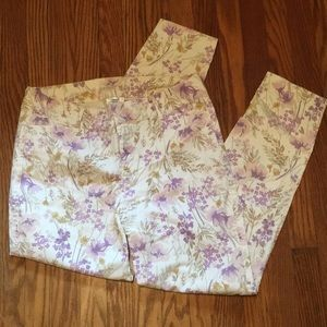 Old Navy Flowered Pants